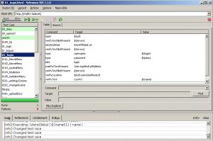 test nahraný v Selenium IDE